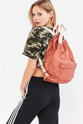 Urban Outfitters Nylon Tote Pack Backpack Brown