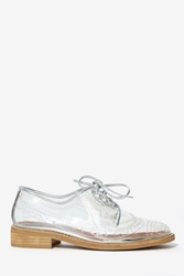 Nasty Gal Jeffrey Campbell Townsend Transparent Oxford