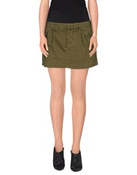 Truenyc. Skirts Mini Skirts Women Military Green