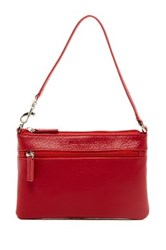 Jack Georges Limited Edition Leather Wristlet Red