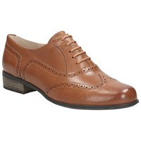 Clarks Hamble Oak Leather Brogues Tan
