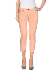 Elisabetta Franchi Gold Trousers 3 4 Length Trousers Women Salmon Pink