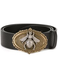 Dolce And Gabbana Fly Buckle Belt Black