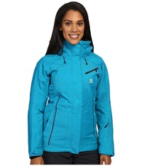 Salomon Fantasy Jacket Kouak Blue Women's Coat