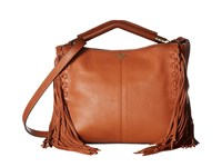 Sam Edelman Zoey Shoulder Cognac Shoulder Handbags Tan