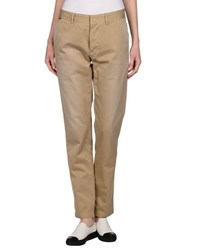 The Editor Trousers Casual Trousers Women Sand