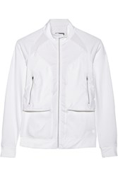 Lija Flight Stretch Jersey Jacket White
