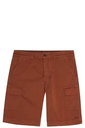 Missoni Cotton Cargo Shorts Brown