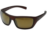 Kaenon Kanvas Grey 12 Polarized Black Mirror Sport Sunglasses Brown