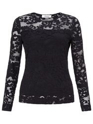 Alice By Temperley Somerset By Alice Temperley Lace Stretch Top Black
