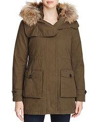 Woolrich John Rich And Bros Scarlett Eskimo 2 In 1 Anorak Military Olive