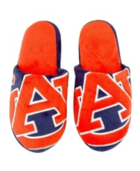 Forever Collectibles Auburn Tigers Big Logo Slippers Team Color