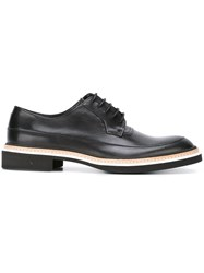Mcq By Alexander Mcqueen 'Columbia' Lace Up Shoes Black