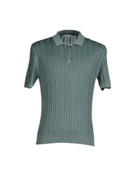 Zanieri Knitwear Jumpers Men Light Green