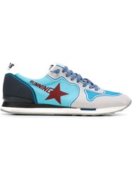 Golden Goose Deluxe Brand 'Running' Sneakers Blue