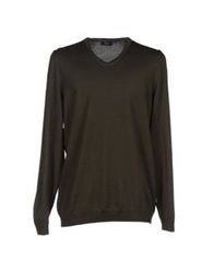 Boss Black Sweaters Dark Green