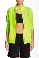 New Balance High Visibility Beacon Jacket Yellow