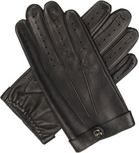 Dents Spectre Unlined Leather Gloves Black