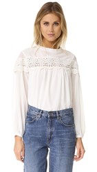 English Factory Boho Blouse White