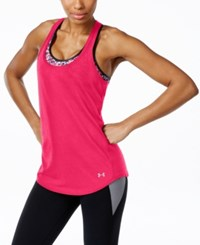 Under Armour Streaker Racerback Running Tank Top Harmony Red