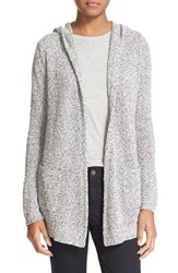 Women's Soft Joie 'Gideon' Shawl Collar Melange Cotton Oval Cardigan