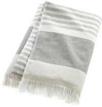 Cb2 Karla Cement Bath Towel