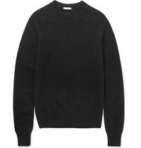 Tomas Maier Slim Fit Cashmere Sweater Black