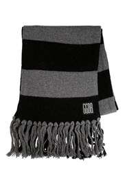 Golden Goose Fringed Wool Knit Scarf