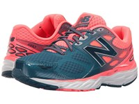 New Balance W680v3 Blue Pink Women's Running Shoes