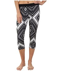 Hurley Dri Fit Crop Leggings Black T Women's Workout