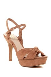 Vince Camuto Philicia High Heel Sandal Brown
