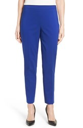Chaus Women's 'Courtney' Side Zip Ankle Pants Wild Blue