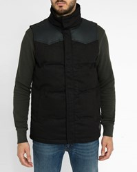 Minimum Black Rogelio Pr Sleeveless Down Jacket