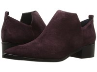 Marc Fisher Yamir Burgundy Suede Women's Shoes