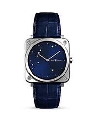 Bell And Ross Br S Diamond Eagle Watch 39Mm Blue