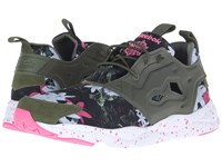 Reebok Furylite Np Canopy Green White Solar Pink Men's Shoes Black