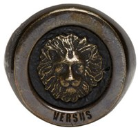 Versus Gold Lion Ring