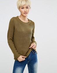 Jdy J.D.Y Knit Jumper Dark Olive Green