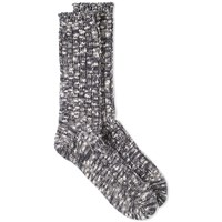 Anonymous Ism Slub Crew Sock Grey
