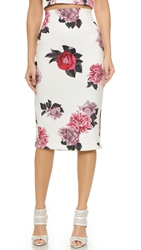 Cameo Killing Vibe Skirt Ivory Bouquet