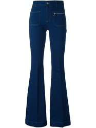 Stella Mccartney 'Classic 70S' Flared Jeans Blue