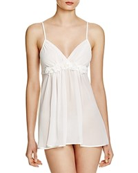In Bloom By Jonquil Carey Chiffon Babydoll Chemise Ivory