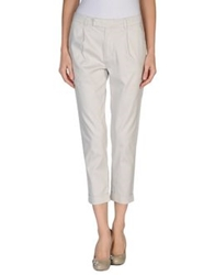 Kai Aakmann Casual Pants Light Grey