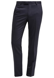 Noose And Monkey Dunster Suit Trousers Blue Dark Blue