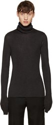 Maison Martin Margiela Black Oversized Turtleneck