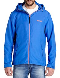 Bench Interrelate Regular Fit Contrast Trim Jacket Blue