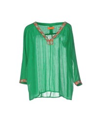 Baandsh Shirts Blouses Women Green
