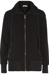 Tomas Maier Jersey Hooded Top Black