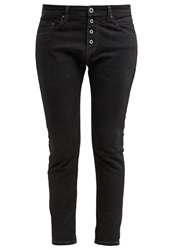 Replay Pilar Relaxed Fit Jeans Black Denim