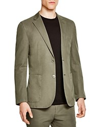 Hardy Amies Slim Fit Sport Coat Olive